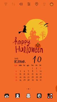 LaRa Calendar-Happy Halloween poster