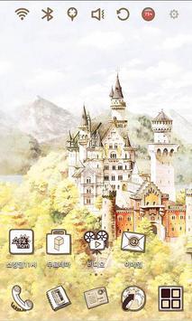 Travel Neuschwanstein Theme poster