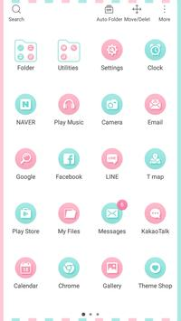 Flamingo Launcher theme apk screenshot