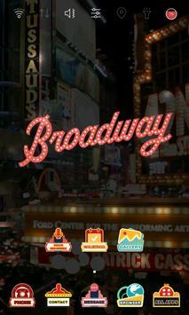 I love Broadway launcher theme apk screenshot