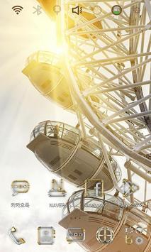 Ferry Wheel Launcher Theme apk screenshot