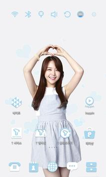 Girl's Day Mina launcher theme apk screenshot