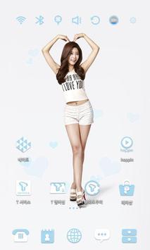 Girl's Day Sojin Theme apk screenshot