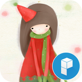 Christmas Girls Launcher Theme icon
