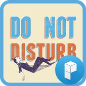 DO NOT DISTURB Launcher Theme icon