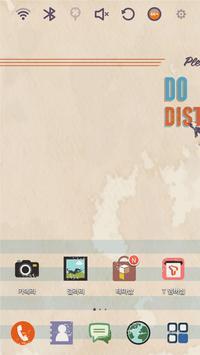 DO NOT DISTURB Launcher Theme poster