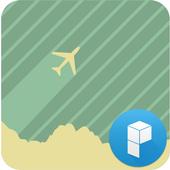 Vintage Plane Launcher Theme icon