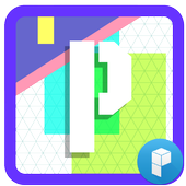 Initial P Launcher Theme icon