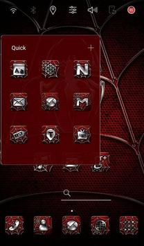 Red Spider2 Launcher theme apk screenshot