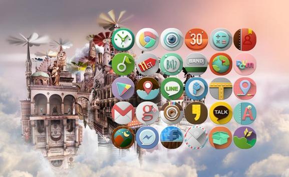 Sky City launcher theme poster