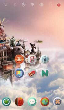 Sky City launcher theme apk screenshot