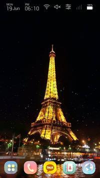 Travel to paris, France Launcher Multi theme apk screenshot