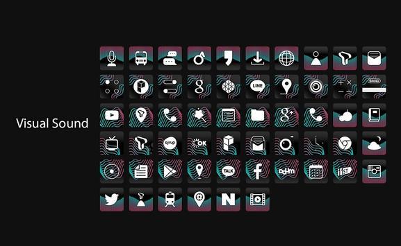 Visual Sound  live theme poster