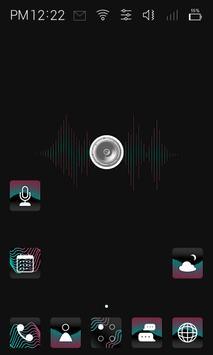 Visual Sound  live theme screenshot 1