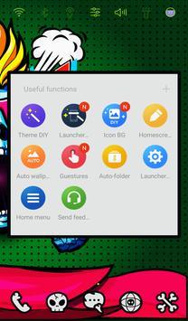 Punky Skull Launcher theme apk screenshot