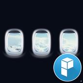 Plane Window Launcher Theme icon