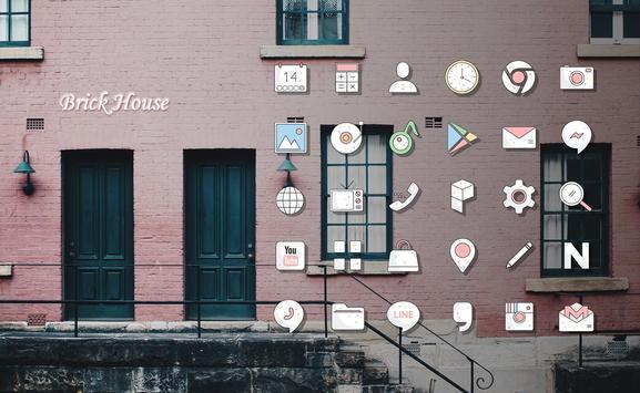 Brick House Launcher theme poster