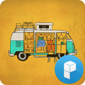 Camping Car Launcher Theme icon