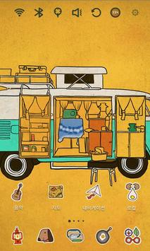 Camping Car Launcher Theme apk screenshot