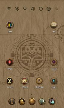 Da Vinci Code Launcher Theme screenshot 1