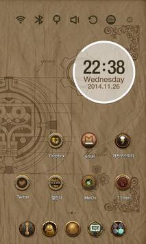 Da Vinci Code Launcher Theme screenshot 2