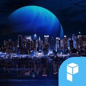 Digital City launcher theme icon