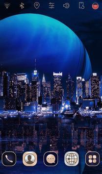 Digital City launcher theme poster