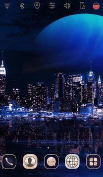 Digital City launcher theme screenshot 1
