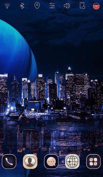 Digital City launcher theme screenshot 2