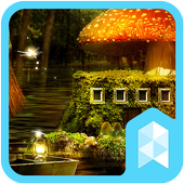 Fantasy Forest Launcher theme icon