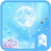 Moon and Under the Sea Widgetpack Launcher theme icon