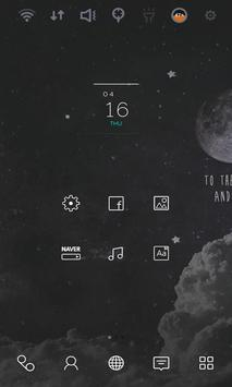 Moon Light Shadow theme poster