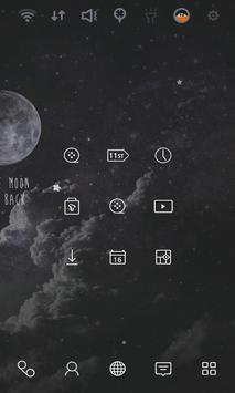 Moon Light Shadow theme apk screenshot