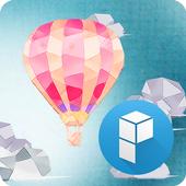 Paper Balloon Launcher Theme icon