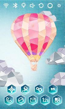Paper Balloon Launcher Theme screenshot 1
