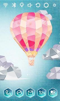 Paper Balloon Launcher Theme screenshot 2