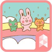 Pastel Friends Rainbow theme icon