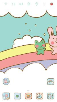 Pastel Friends Rainbow theme apk screenshot