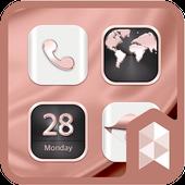 HD Rose Gold Widgetpack theme icon