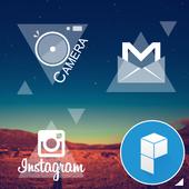 Triangleholic Launcher Theme icon
