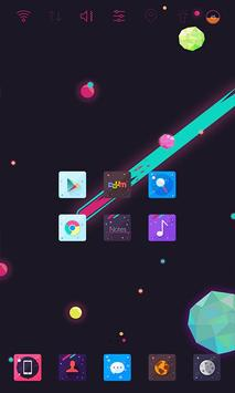 Space Punk Widgetpack theme apk screenshot