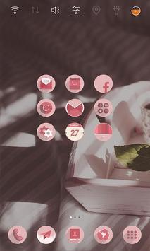 Sweet Morning launcher theme screenshot 2