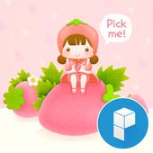 StrawBerry Fairy theme icon