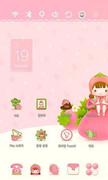 StrawBerry Fairy theme poster