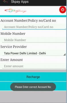 Skpay Recharge Application screenshot 7