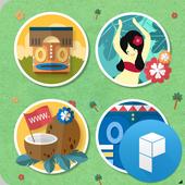 Aloha Hawaii Launcher Theme icon