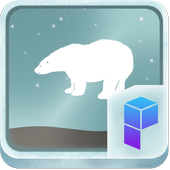 Cute Polar Bear Theme icon
