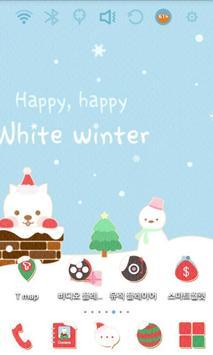 Cute Santa Launcher Theme screenshot 2