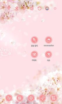 Cherry Blossom Launcher Theme apk screenshot