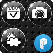 High Glossy Launcher Theme icon